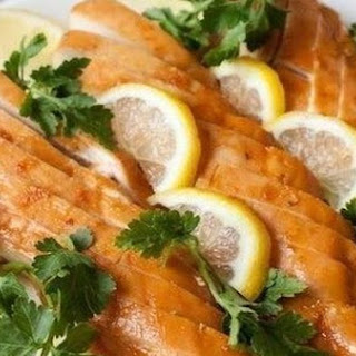 Honey-lemon Chicken Breasts.