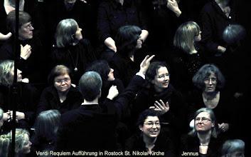 Photo: Verdi Requiem Aufführung in Rostock St. Nikolai Kirche