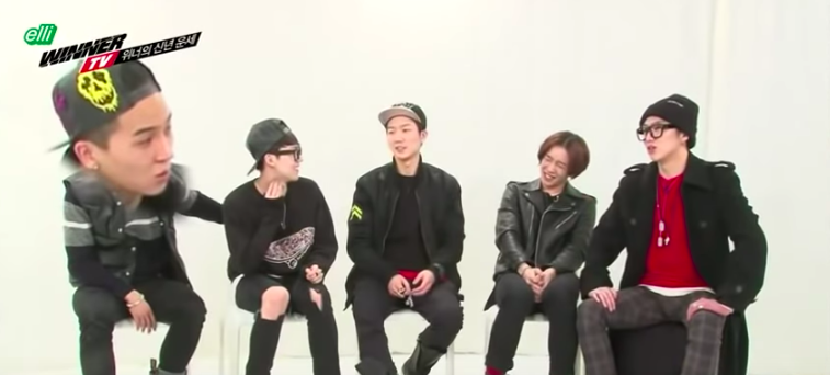 Mino agreeing that Nam Taehyun won't treat women well