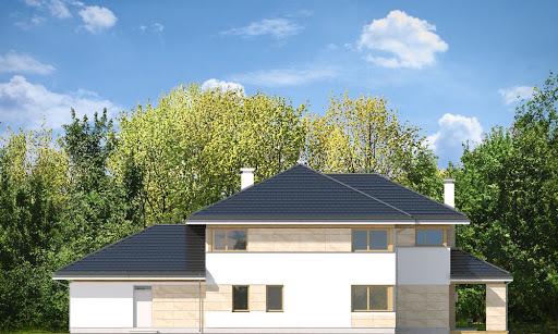 Dom z widokiem B - Elewacja tylna