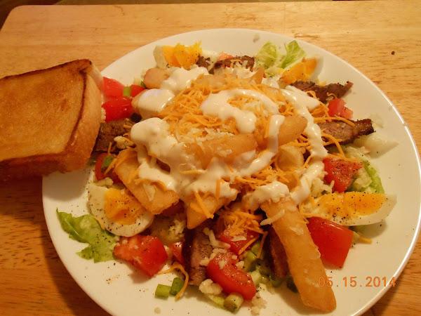 Restaurant-style Steak Salad Recipe