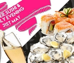 Bubbly, Oyster & Sushi evening - 31st May : Simply Fish Moreleta Park