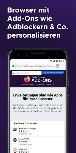 Firefox Browser: schnell, privat & sicher screenshot 7