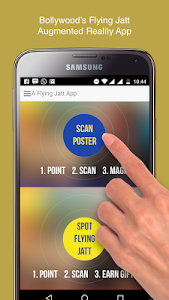 Flying Jatt Movie AR App screenshot 2