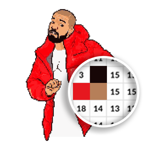 Hip Hop Pixel Coloring Book - Paint By Number Android APK Download Free By Indigo On3