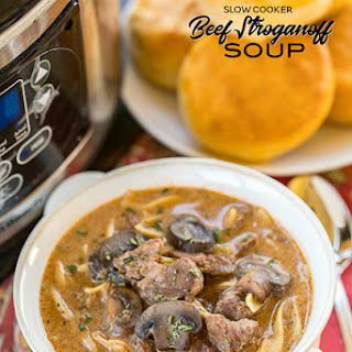 Slow Cooker Steak Soup.