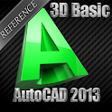 3D AutoCAD 2013 Reference icon