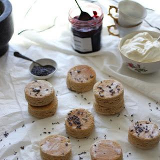 Wholewheat Lavender Irish Scones Recipe