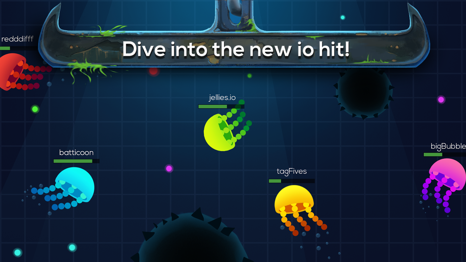 Deep oceanwar android apps on google play for Fish io games