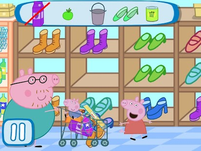 ANDROID – PEPPA NO SUPERMERCADO