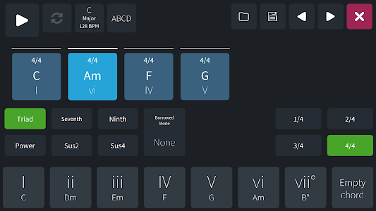 Easy Chord Progression Maker 1.5.1 APK for Android