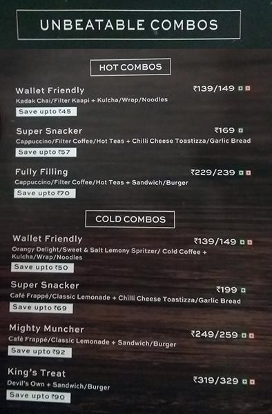 Cafe Coffee Day menu 3