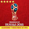 Mundial Rusia 2018 Calendario y Resultados en Vivo icon