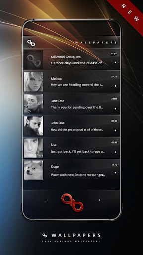 Wallpapers QB Messenger screenshot 4