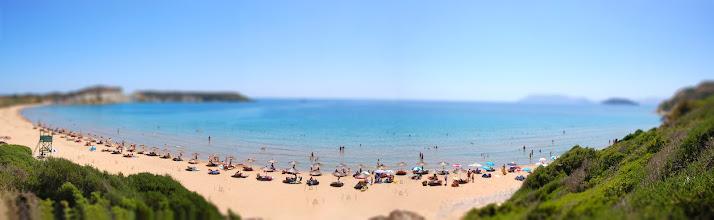 Photo: Gerakas beach [panorama] [tiltshift]