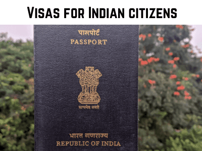 indian passport used as a cover photo for the section on visas for indian citizens on the travel blog on my canvas