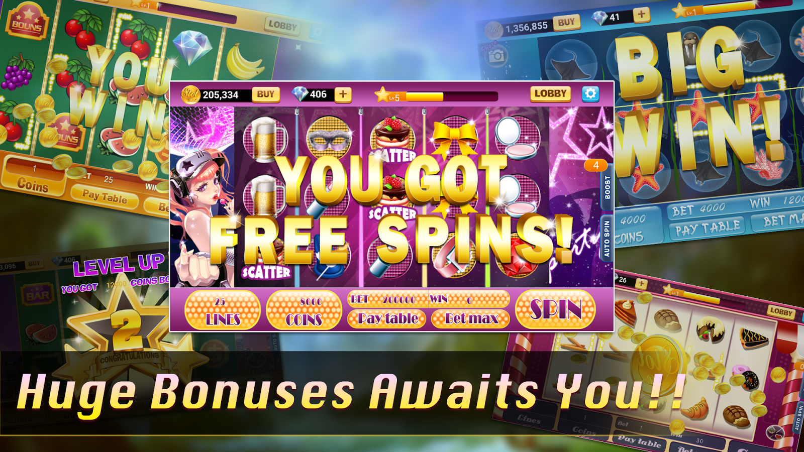 Slot Rush II - Slot Machines- screenshot