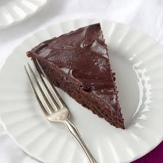 Gluten Free, Sugar Free Chocolate Beet Cake.