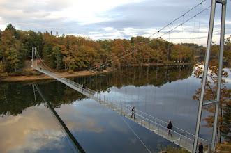 Photo: Passerelle himalayenne (Lac de saint Etienne Cantalès)
