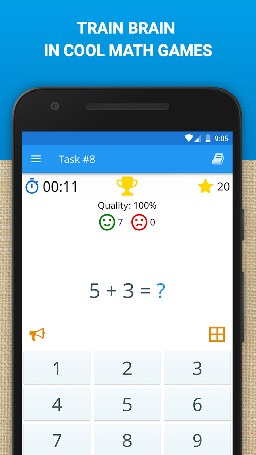 Math: Mental Math Games- screenshot