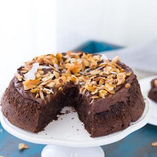 Flourless Chocolate Coconut Cake.