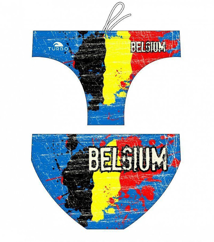 Turbo Waterpolo Suit Junior boys BELGIUM - 7994522