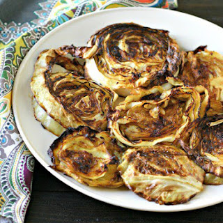 Indian Spiced Roasted Cabbage Steaks Recipe