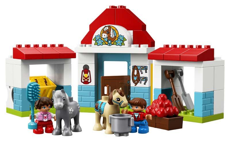 Contenido de Lego® 10868 Establo de los Ponis