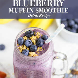 Blueberry Muffin Smoothie.