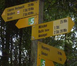 Photo: Punkt 769 ob Regensberg