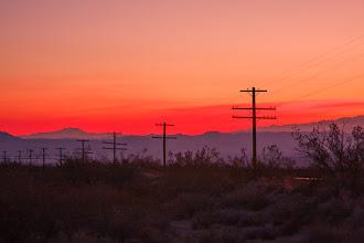 Photo: Sunset near Kelso