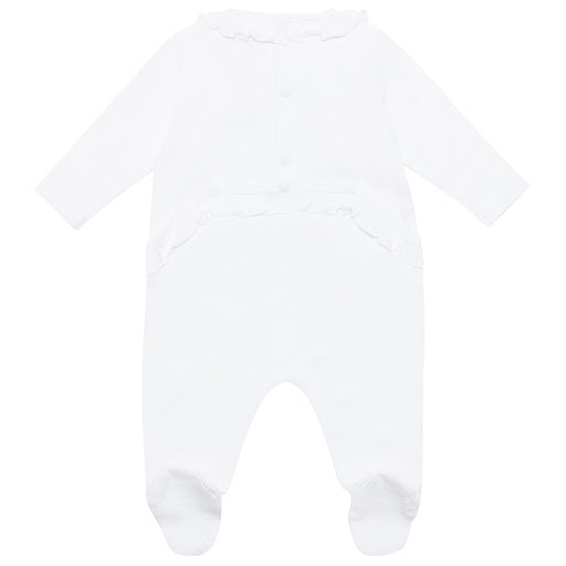Thumbnail images of Kenzo Kids Cotton Tiger Sleepsuit