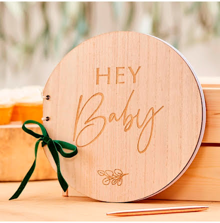 Gästbok - Botanical baby