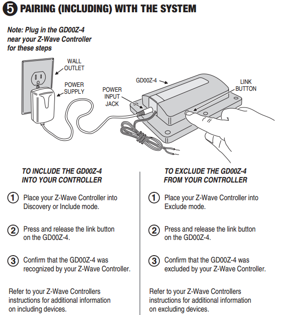 How Do I Use The Lyric Gateway To Control A Garage Door