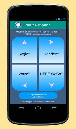 Send to Navigation 2.3.0 screenshots 3