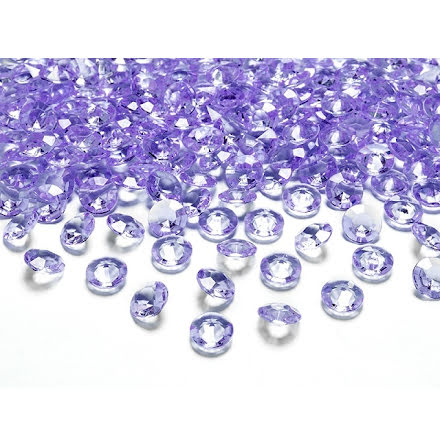 Dekorationsdiamanter - Lila
