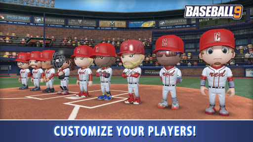 BASEBALL 9 1.4.7 screenshots 4