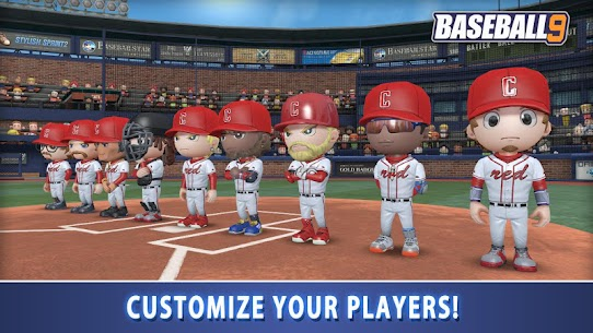 BASEBALL 9 MOD APK (Unlimited Money) 4