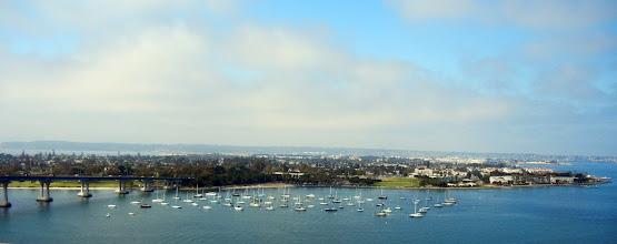 Photo: Views of Coronado Island from the Coronado Bridge