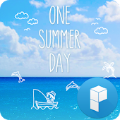 One Summer Day Launcher Theme