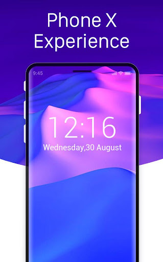 Launcher for iphone x: ios 11 theme control center for PC