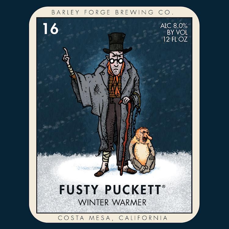 Logo of Barley Forge Fusty Puckett