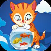 Tom Cat Love Fish