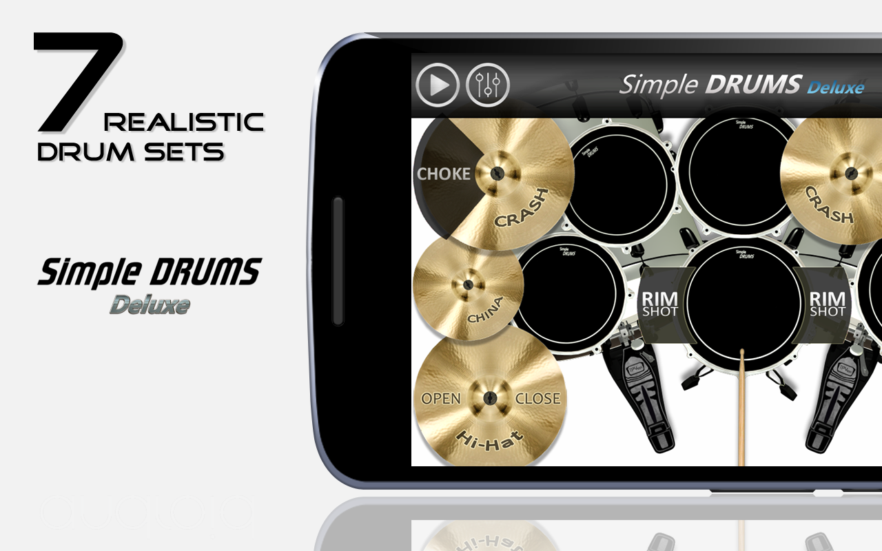 Simple Drums - Deluxe- screenshot