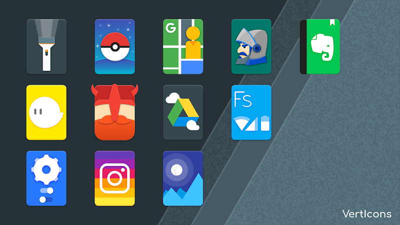 Verticons Icon Pack Screenshot 4
