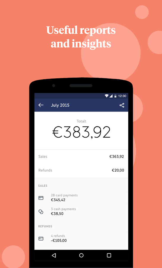 iZettle: Free point of sale- screenshot
