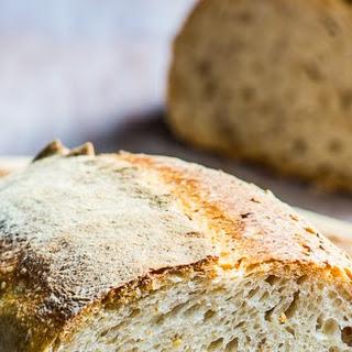 Spelt-oat Sourdough Bread