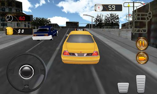 真正的出租车司机3D模拟器
