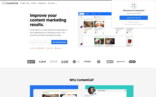 ContentCal Web Clipper