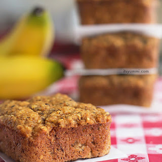 Low-Carb Banana Bread Bites